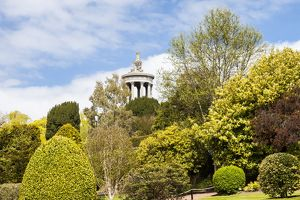 The Burns Monument, Alloway, South Ayrshire, Scotland.