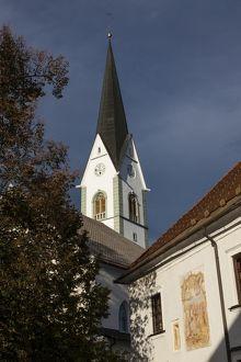 The Church of St Peter, Radovljica, Slovenia.