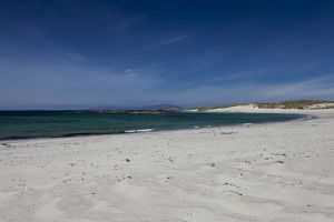 Cliad Bay in Coll, Scotland.