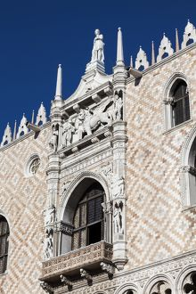 The Doge`s Palace, Venice, Italy.