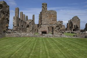 Earl`s Palace, Birsay in Orkney, Scotland.