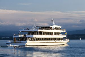 A ferry on Lake Constance in Germany.