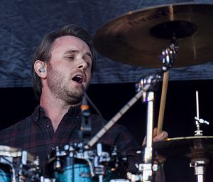 Fraser West of Skerryvore playing at Oban Live in Scotland