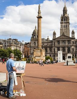 George Square, Glasgow Scotland.