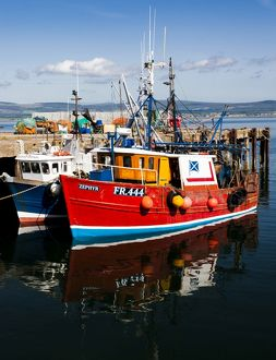 The harbour at Cromarty, Scotland.
