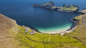 The island of Hirta, St Kilda, Scotland.