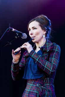 Julie Fowlis playing at Oban Live in Scotland