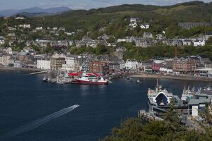 Oban in Argyll and Bute, Scotland.