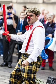 Pedro Tochas at the 2015 Edinburgh Fringe Festival, Scotland