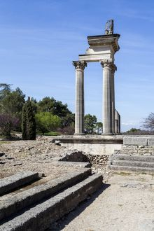 Roman remains at St-Remy-de-Provence in France