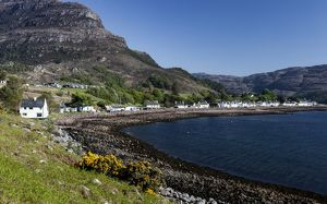 Shieldaig in Torridon, Scotland.