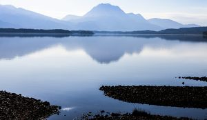 Slioch and Loch Maree, Scotland.