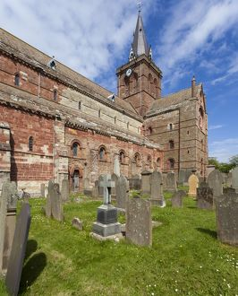 St Magnus Cathedral, Kirkwall, Orkney, Scotland.