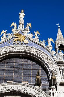 St Mark`s Cathedral, Venice, Italy.