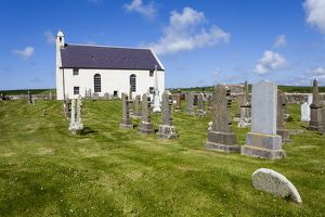St Peter`s Church in Skaill Bay, Orkney, Scotland.