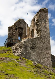 Tarbert Castle, Scotland.