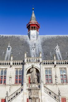 The Town Hall in Damme, Belgium