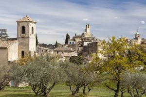 The town of Lourmarin in France