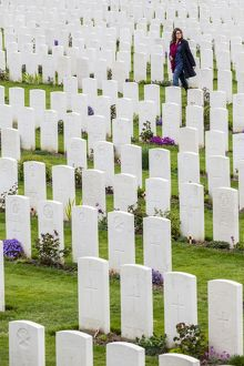 Tyne Cot Commonwealth War Graves Cemetery, Belgium