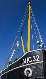 The 'Vic 32' in the Crinan Canal, Argyll & Bute, Scotland
