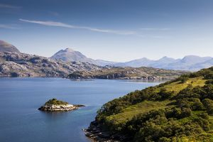 A view of Loch Torridon, Scotland
