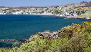 The village of Gairloch, Scotland.