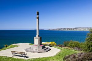 The war memorial in Gairloch, Scotland.