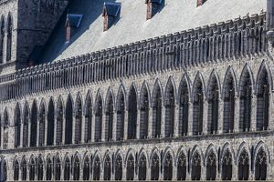 The Ypres Cloth Hall in Belgium