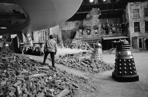 Filming Daleks Invasion Earth 2150 AD