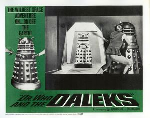A front of the house picture for Dr. Who and The Daleks (1965)