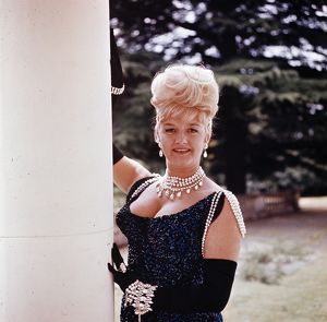 Joan Sims in a portrait image for Carry On Cowboy