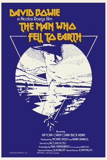 The Man Who Fell To Earth UK one sheet variant colour