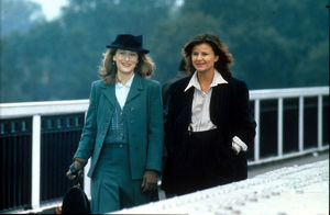 Meryl Streep and Tracey Ullman in a scene from Plenty (1985)