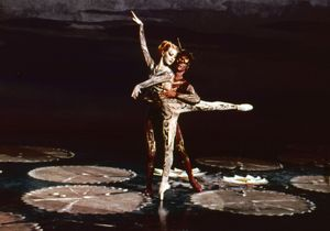 A moment from the film Tales of Hoffmann