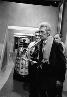 Peter Cushing and Bernard Cribbins