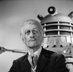 Peter Cushing as Dr. Who