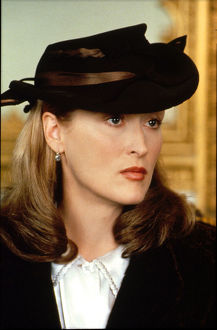 A portrait of Meryl Streep for the promotion of Plenty (1985)