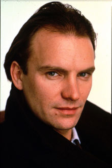 A portrait of Sting taken for his role in Plenty (1985)
