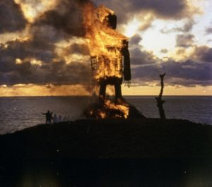 A production still image from The Wicker Man (1973)
