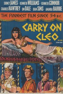 One sheet UK poster artwork for Carry On Cleo (1965)