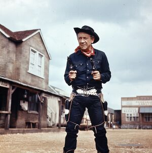 Sid James as The Rumpo Kid in Carry On Cowboy