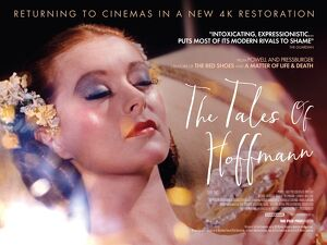 Theatrical re-release poster artwork for the film Tales of Hoffmann
