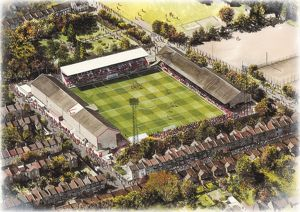 Brisbane Road Art - Leyton Orient #8649089