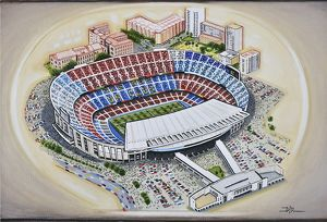 <b>Stadia of Spain</b><br>Selection of 2 items
