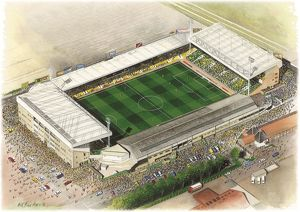 Carrow Road Art - Norwich City #8649103