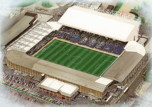 Elland Road Art - Leeds United #8649221