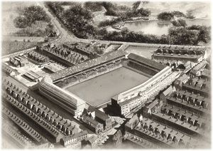 Goodison Park Art 1955 - Everton #8651755