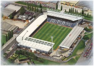 The Hawthorns Art - West Bromwich Albion #8652357