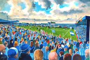 Layer Road Stadium Fine Art - Colchester United Football Club