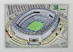 MetLife Stadium Art - New York Giants #9123083